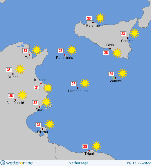 Wetter Malta Heute