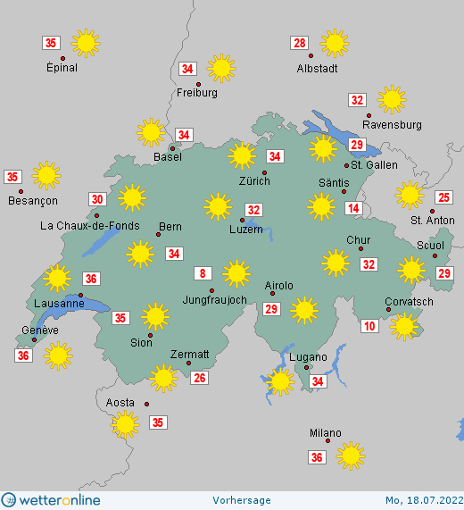 Wetter Schweiz