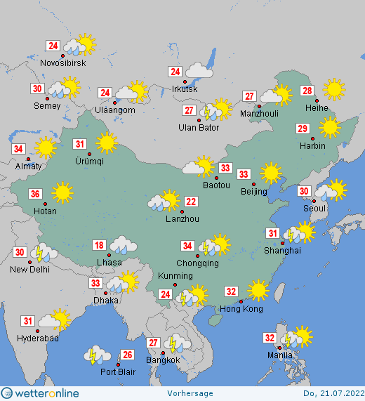 Wetter In China