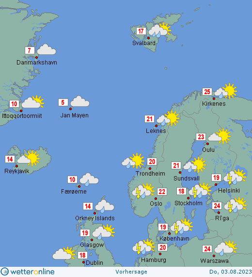 Wetter Nordeuropa